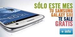 Galaxy S III gratis