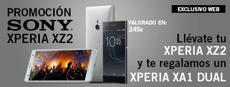 Promoción Sony Xperia XZ2